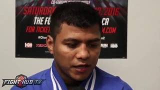 Roman Gonzalez issues warning to trash talking Cuadras,