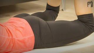 Fitness: Schlanke Beine und knackiger Po
