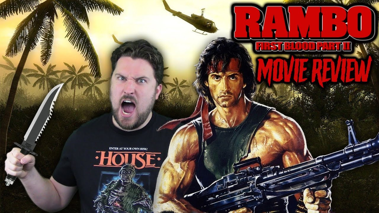 Rambo First Blood Part Ii 1985 Movie Review Youtube