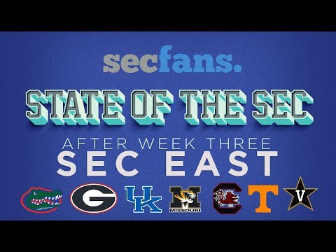 State of the SEC (East) Week 4: Tennessee vs Florida Review, Kentucky vs South Carolina