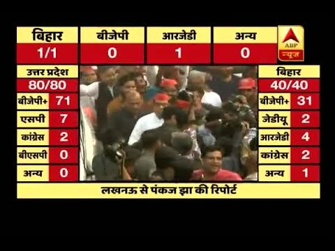 UP Bypoll Results: SP workers welcome Akhilesh yadav at party headquarter Mp3