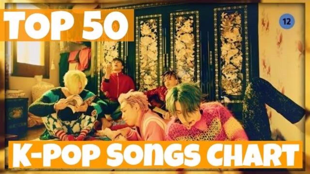 TOP 50 K-POP SONGS CHART • DECEMBER 2016 (WEEK 3) - YouTube