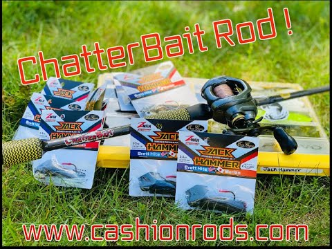 The Versatility Of The Best Rod Made For The Hottest Spring Technique! We're Talking Chatterbaits!