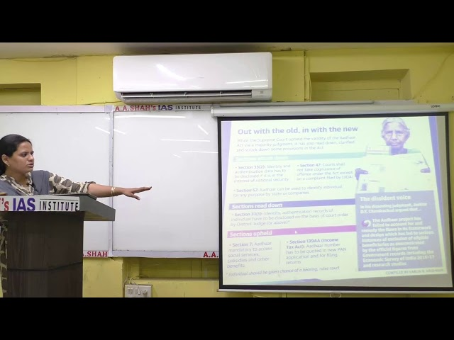 Know Aadhaar Act for UPSC Exam | Supreme Court judgement on Aadhar its impact