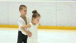 Зимние забавы Казань 2021 г Кобзев Петр и Харабара Кира первое место