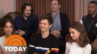 Jamie Foxx, Jon Hamm: Behind The Scenes Of 'Baby Driver' With The Film's Stars | TODAY