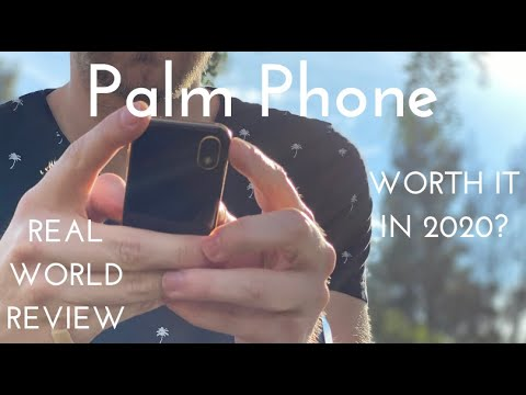 Palm Phone - Worth It In 2020? (Real World Review)