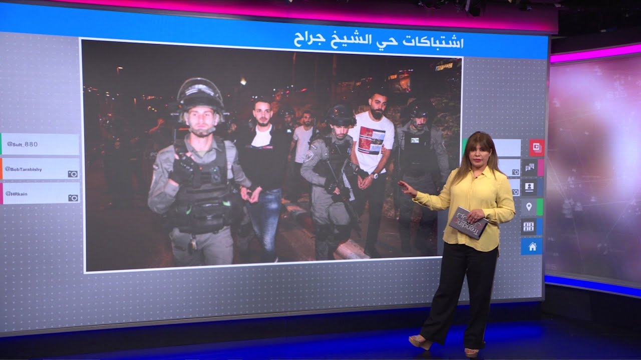 تراشق بالكراسي والأطباق بين فلسطينيين وإسرائيليين في حي الشيخ جراح  - نشر قبل 18 دقيقة