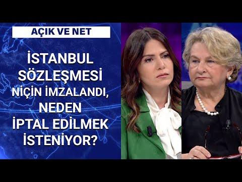 AK Parti İstanbul Sözleşmesi'ni niçin istemiyor? Kezban Hatemi anlattı | Açık ve Net - 5 Temmuz 2020
