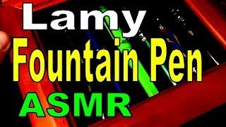 The Lamy AL-star Fountain Pen - ASMR