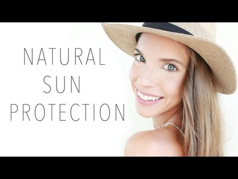 NATURAL SUN PROTECTION TIPS!