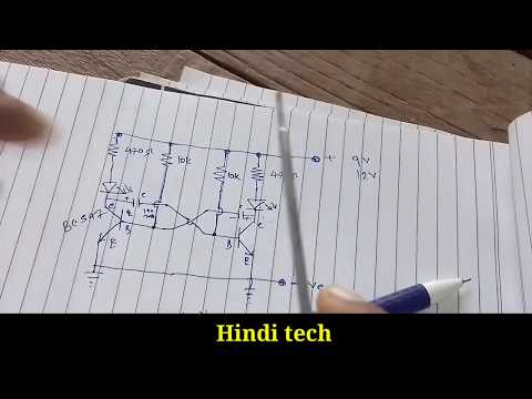 How to make led series||Diy home made led series || jk flip flop part 1 hindi by all time Hindi tech