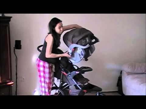 Babytrend Stroller Amp Carseat Review Youtube