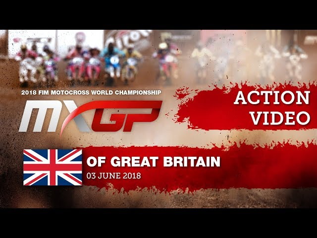 Cairoli vs Herlings battle & Cairoli Crash - MXGP Race 1 - MXGP of Great Britain