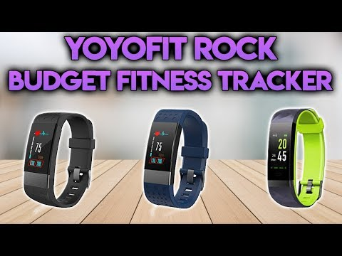 YOYO FIT ROCK - Budget Fitness Tracker With Colour Screen