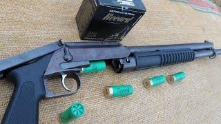 """РМБ- 93"""" Рысь"""". Помповое ружьё наоборот!! Обзор, стрельбы"""