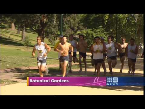 Ben Cousins' Training update report Richmond 5-1-2009