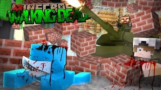 Minecraft THE WALKING DEAD - SHARKY FINDS SCUBA STEVE...... DEAD OR ALIVE???