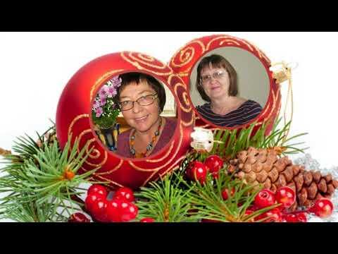 Новогодние фотографии на шарах