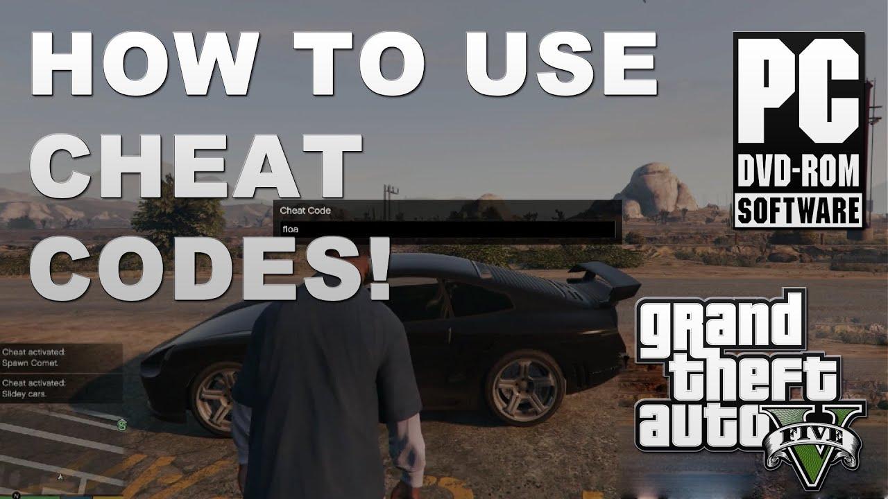 Gta 5 pc how to use cheat codes tutorial youtube publicscrutiny Choice Image
