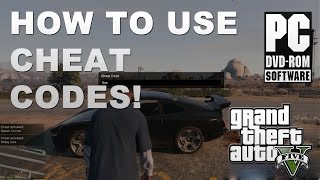 GTA 5 PC | How to Use Cheat Codes Tutorial
