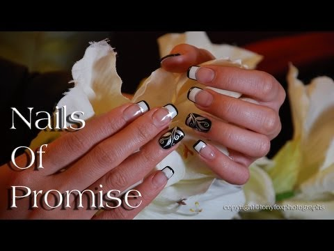 Passion Live Nail Art Tutorial. Nails Of Promise.