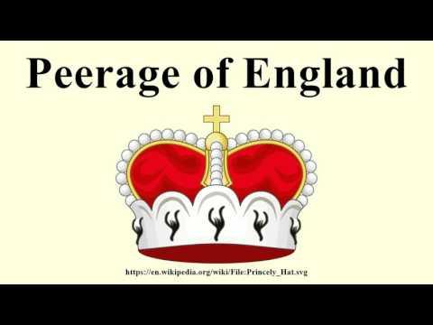 Peerage of England