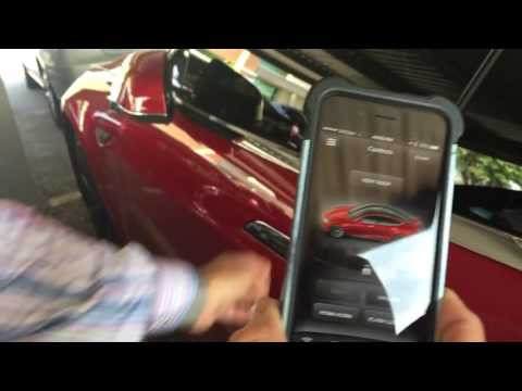 How to lock your key fob inside the Tesla Model S