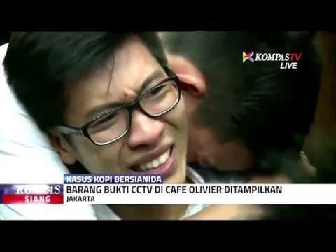 Tangisan Suami Mirna saat Menonton CCTV Detik-Detik Terakhir Mirna