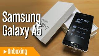 Unboxing en español del Samsung Galaxy A5 Premium