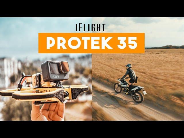 Falling In LOVE with CINEWHOOPS Again! iFlight ProTek35 HD