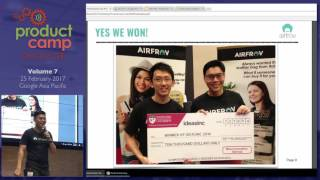 From 0 to 100,000 users. Mistakes we made and Jobs to be Done - ProductCamp Singapore Volume 7