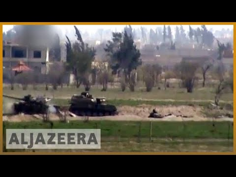 🇸🇾 Syria army 'splits rebel-held Eastern Ghouta in three' | Al Jazeera English