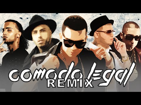 Comodo Legal [Remix] - J Alvarez Ft Farruko, Arcangel , Nicky Jam y Ñengo Flow   Reggaeton 2015