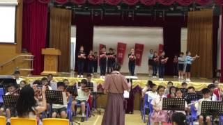 聖公聖公會將軍澳基德小學開放日的表演