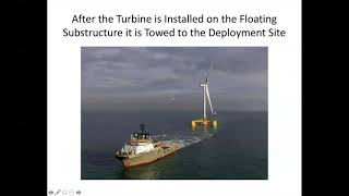 Offshore Wind Farms and the Morro Bay Project