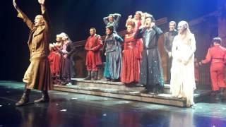 2015.10.10 Romeo et Juliette (soirée) Curtain call, Seoul Korea