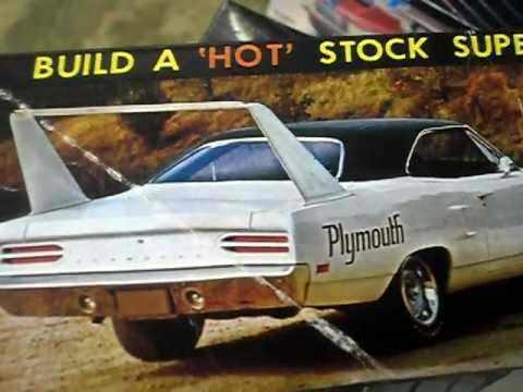 69 Plymouth Super Bird Of My Jo Han Muscle Car Kit Collection Youtube