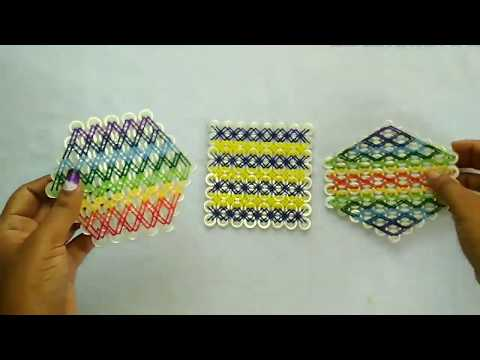 DIY button coaster making idea.Recycle old buttons.Lovely Coaster/table mat making idea with buttons