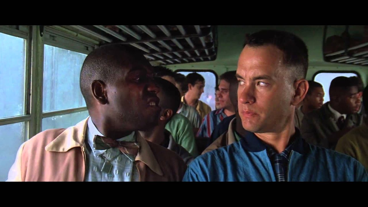 """analysis of bubba in forest gump 37 quotes from forrest gump  """"bubba then grabbed a hold of my leg and his eyes got all cloudy and that terrible pink sky seem to drain all the colour in his face."""