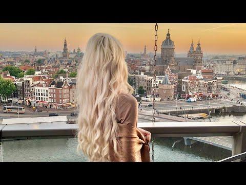 Лучшие Места для Фото в Амстердаме / Amsterdam Vlog