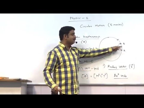 Circular motion lecture 1,  Hsc std 12,  Maharashtra Board.