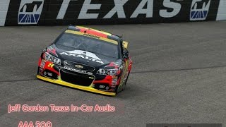 Jeff Gordon Texas In-car Audio - AAA 500 - 2015-11-08 - with spotter chatter