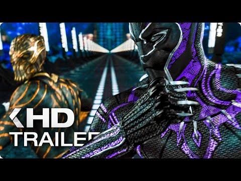 "BLACK PANTHER ""Hyperloop Fight"" Clip & Trailer (2018)"