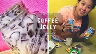 How to make Coffee Jelly (Filipino Version)