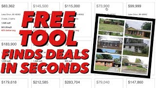 FREE Tool Finds Cheap Houses In Any Zip Code in Seconds!