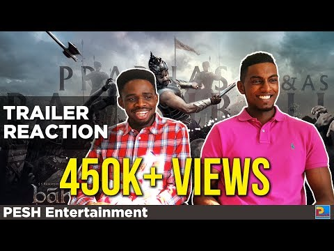 Baahubali Trailer Reaction | PESH Entertainment
