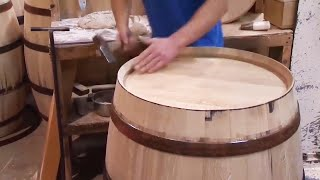 How to Make Wooden Barrels for Wine