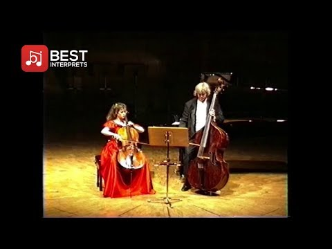 Wolfgang Güttler and Françoise Groben play Rossini - Duo for Cello and Double Bass (1993)