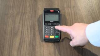 This is a helcim video tutorial showing how to pre-authorize credit cards on the ingenico iwl220, iwl250, ict220 and ict250 card machines. https://www...
